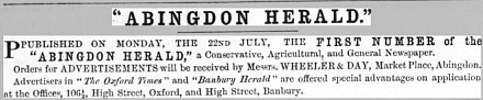 Abingdon Herald at 150