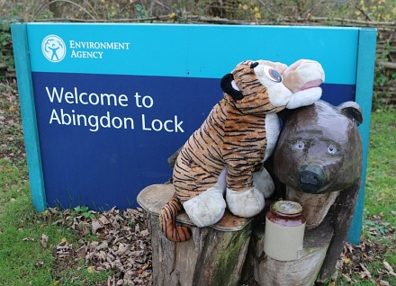 Abingdon Lock in November