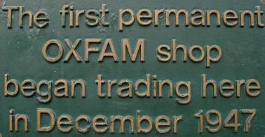 Oxfam Pop Up Shop