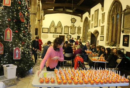 Eve of Christingle and Torchlight Service
