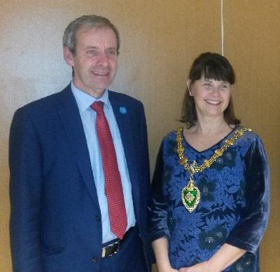 Mayor of Sint Niklaas visits