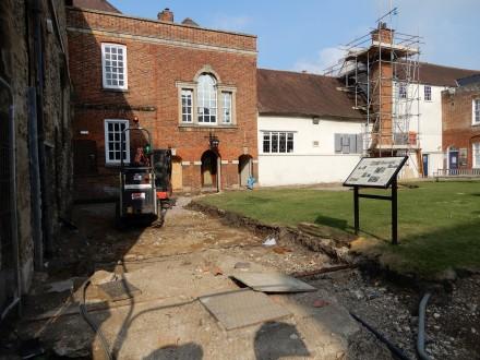 Guildhall progressing