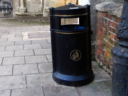 Eye Spy Litter Bins