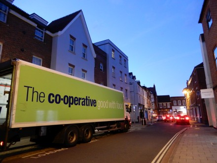 Green Co-op Lorry