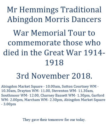 War Memorial Tour