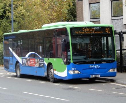 Abingdon Town Bus
