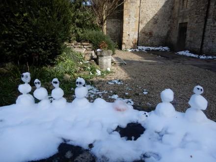 miniature snowmen