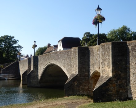 On the Bridge in Abingdon