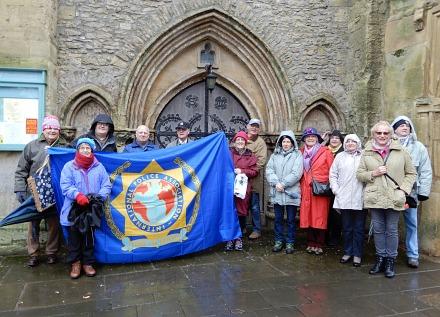 International Police Association visit Abingdon