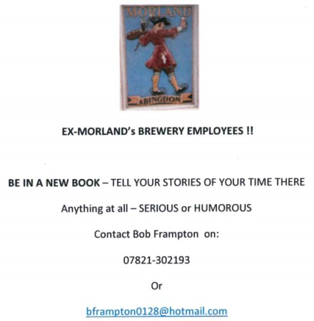 Morland Stories Wanted