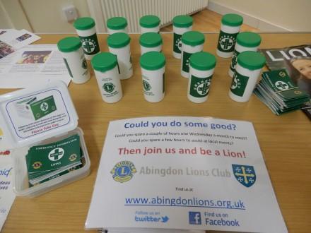 Abingdon Lions Share