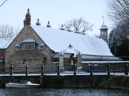 Abingdon Transformed by Snow