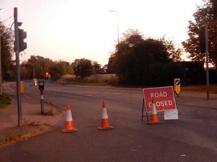 Drayton Road Gas Leak