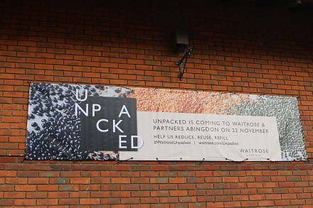 Unpacked coming to Abingdon