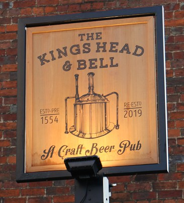 Re-opening at Kings Head and Bell