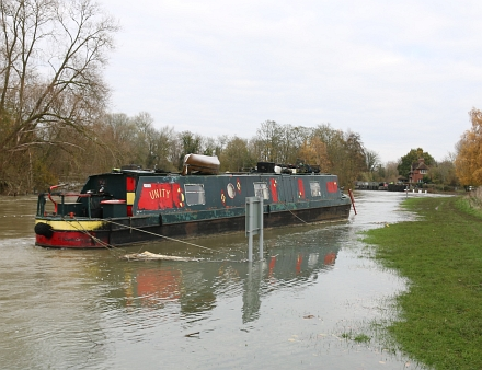 Abingdon River levels High