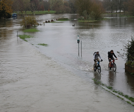 Abingdon River levels High