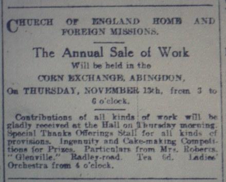 Abingdon 100 years ago