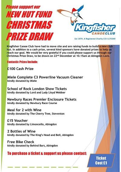 Kingfisher Christmas Draw