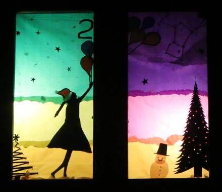 Advent Windows in South Avenue