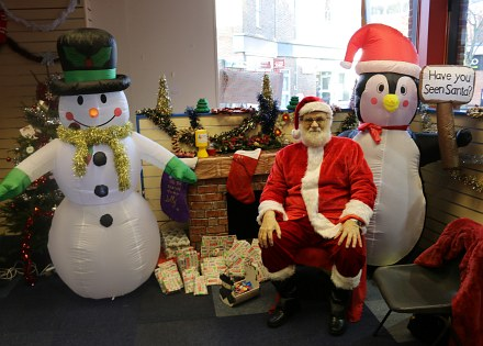 Saturday before Christmas in Abingdon