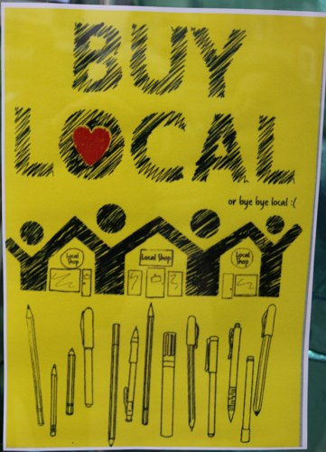 BUY LOCAL or bye bye local