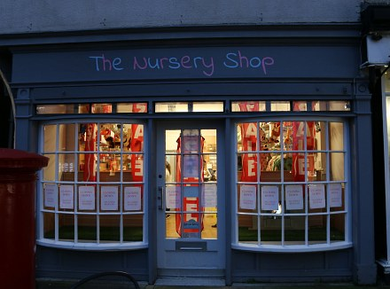 Nursery Shop to close