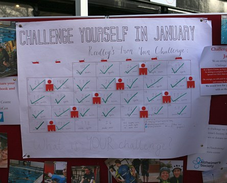 Challenge yourself in January