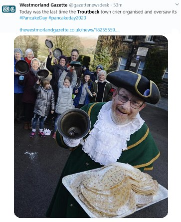 Lake District Pancake Race