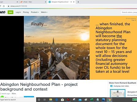 Virtual Local Politics and Neighbourhood Plan