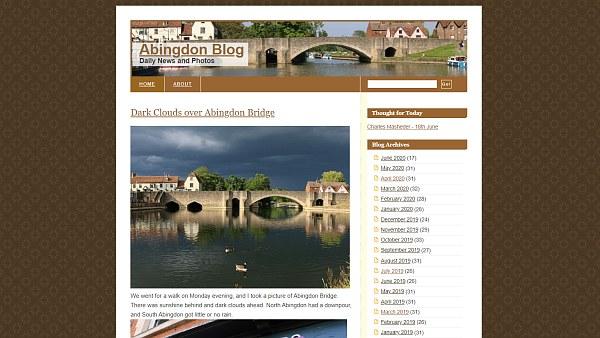 Abingdon Blog