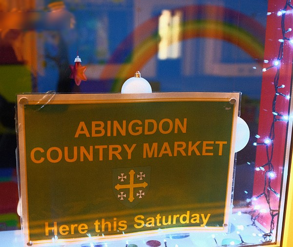 Abingdon Country Market - This Saturday