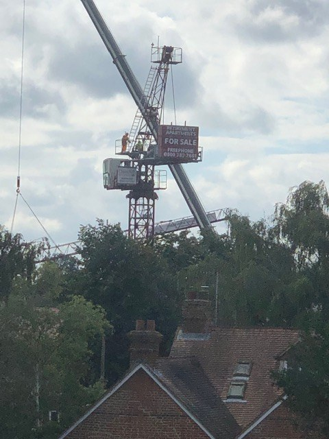 Landmark Crane has gone