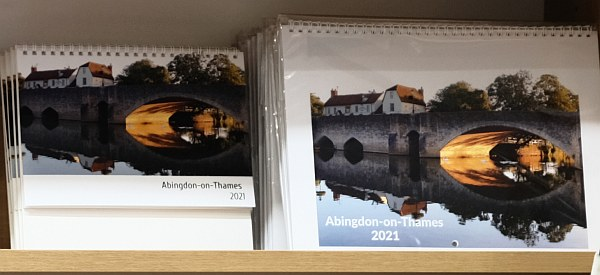 Abingdon-on-Thames 2021 Calendar