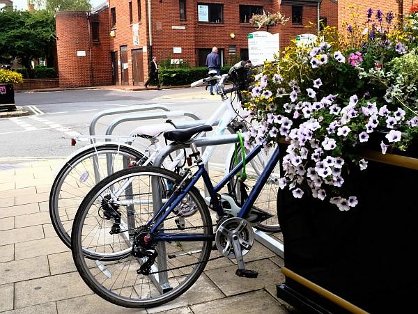 New and Repaired Bike Racks