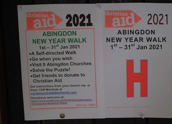 Christian Aid Walk 2021