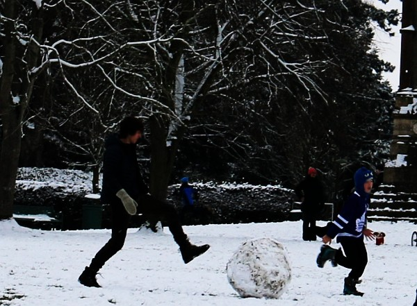 Snow in Abingdon