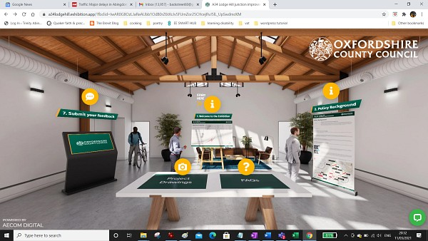 Lodge Hill Interchange Virtual Exhibition Open